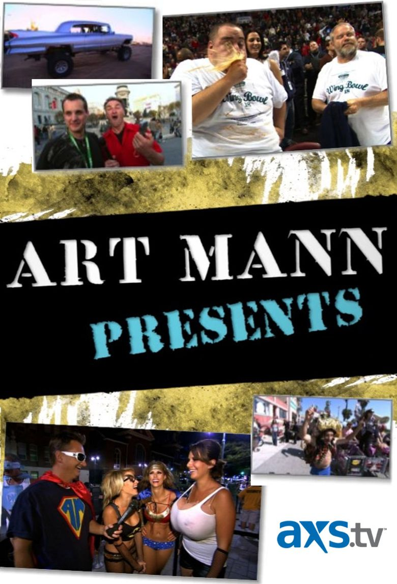 Art Mann Presents Poster