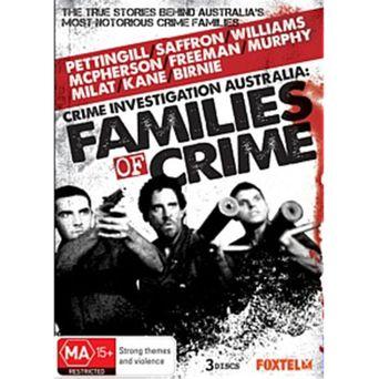 Australian Families of Crime Poster