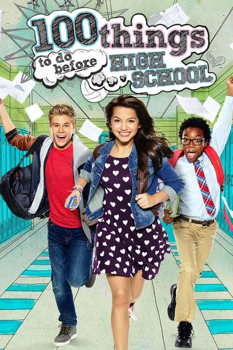 100 Things to Do Before High School Poster