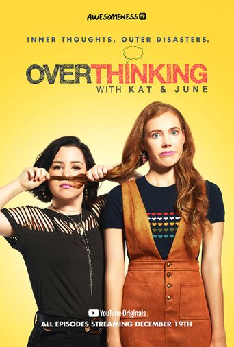 Overthinking with Kat & June Poster