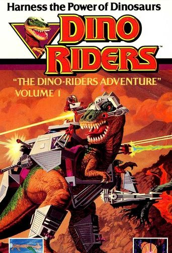 Dino-Riders Poster
