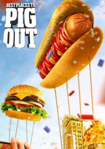 Best Places to Pig Out Poster
