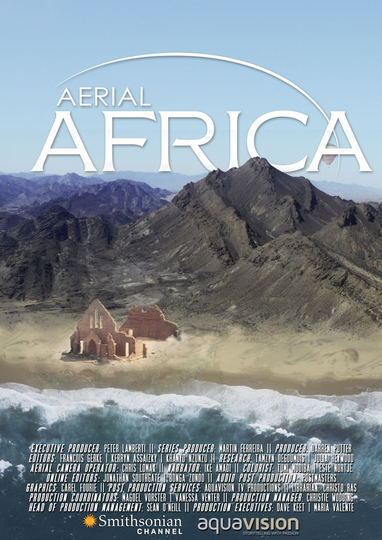 Aerial Africa Poster