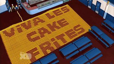 Season 02, Episode 42 Let Them Eat Cake Fries
