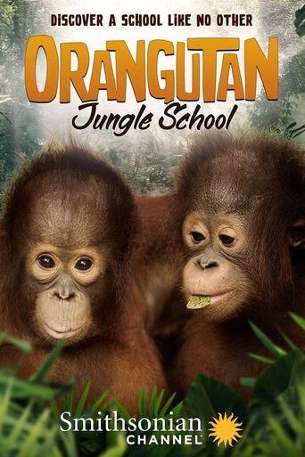 Orangutan Jungle School Poster