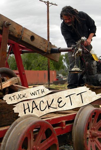 Stuck with Hackett Poster