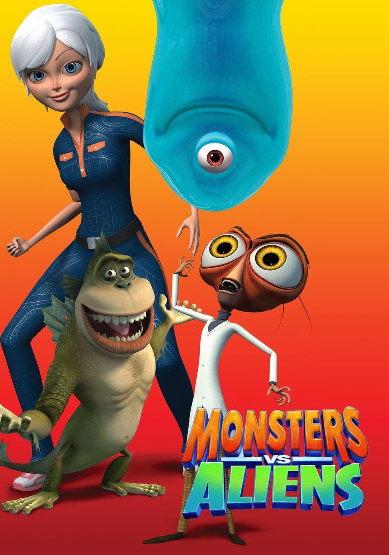 Monsters vs. Aliens Poster