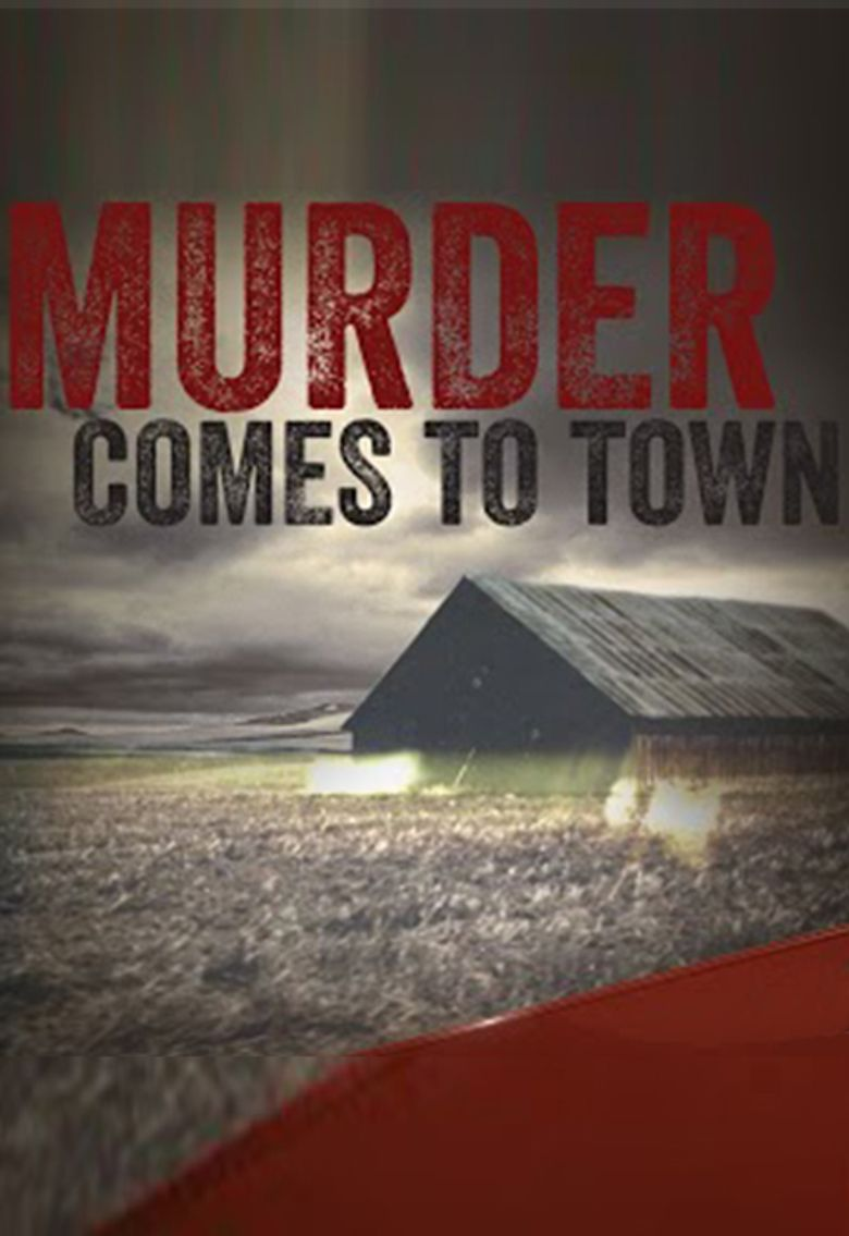 Murder Comes To Town Poster