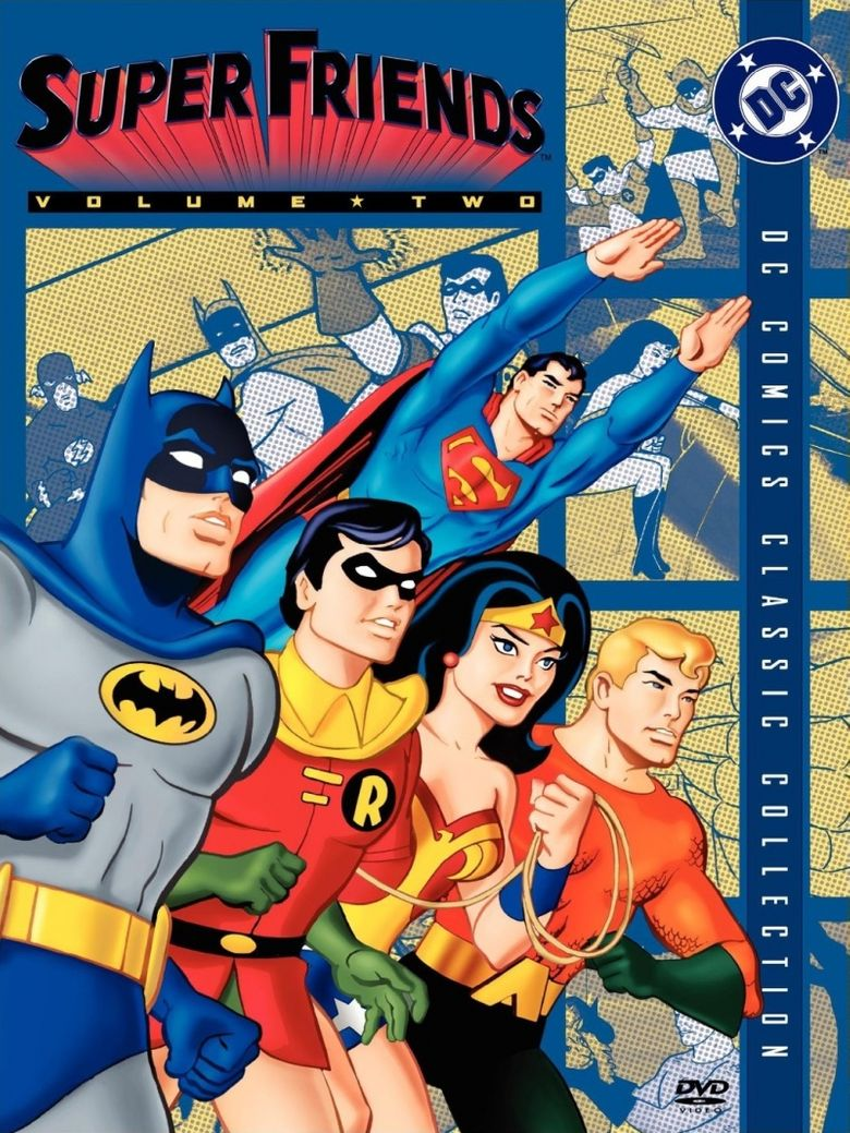 Challenge of the Super Friends Poster