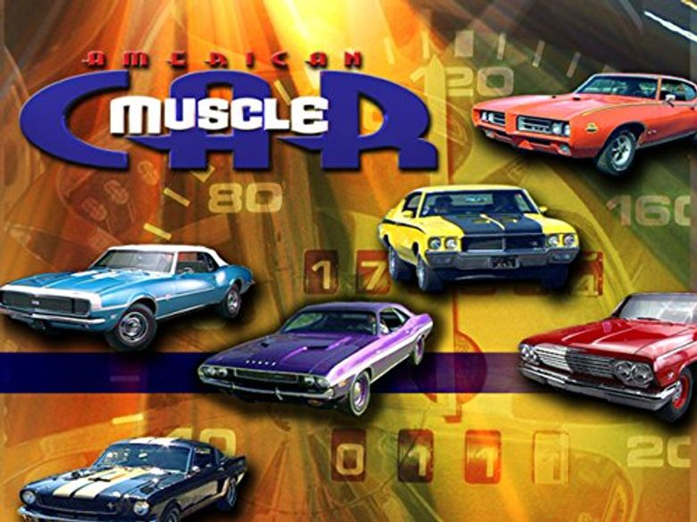 American Muscle Car Poster