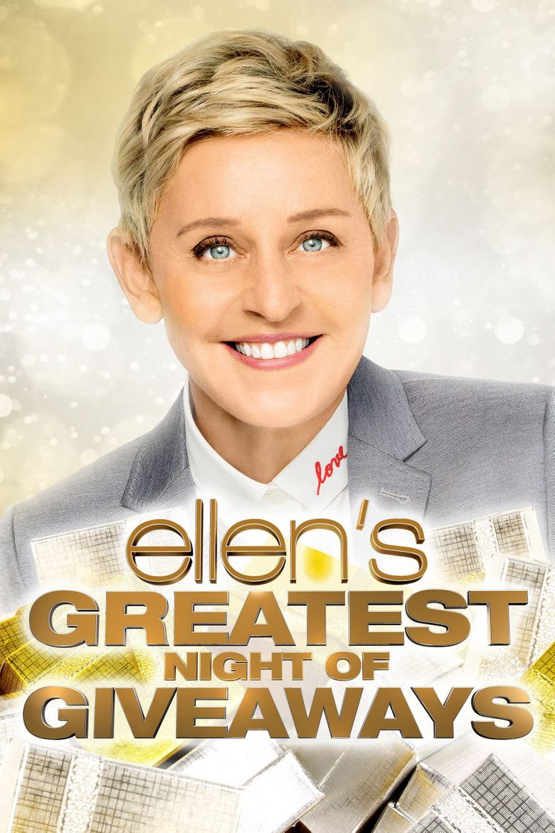 Ellen's Greatest Night of Giveaways Poster