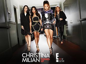 Christina Milian Turned Up Poster