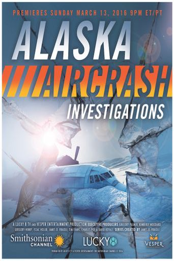 Alaska Aircrash Investigations Poster