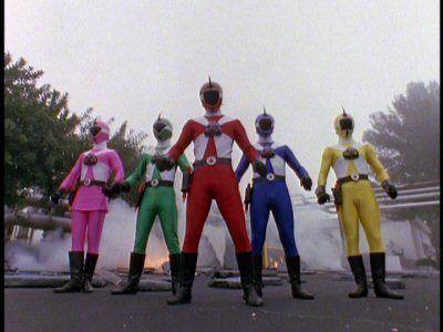 Season 08, Episode 07 Cyborg Rangers