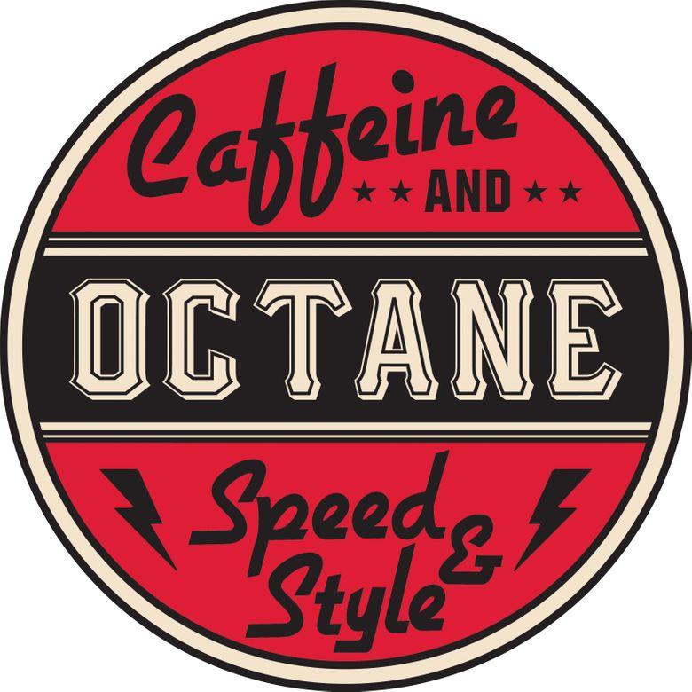 Caffeine and Octane Poster