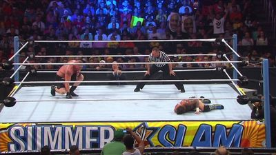 """Season 04, Episode 05 """"The Best"""" Vs. """"The Beast"""" In A No Disqualification Match CM Punk Vs. Brock Lesnar"""
