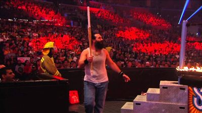 Season 04, Episode 01 Ring Of Fire Match Kane Vs. Bray Wyatt