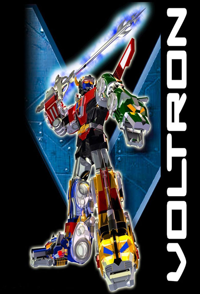 Voltron: The Third Dimension Poster