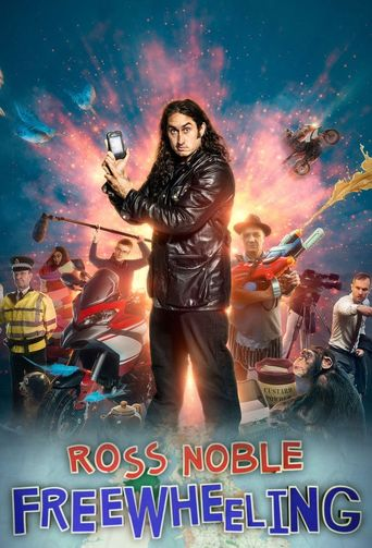 Ross Noble: Freewheeling Poster