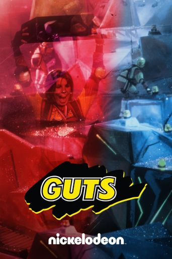 Nickelodeon Guts Poster