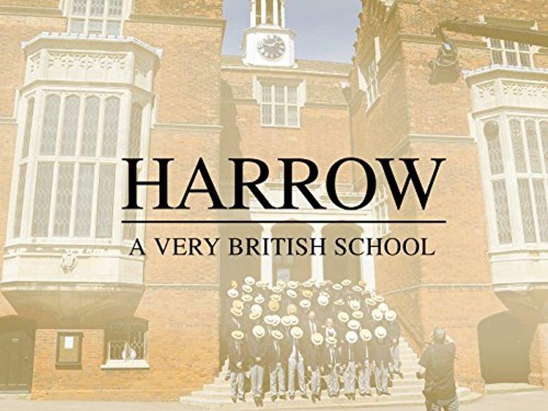 Harrow: A Very British School Poster