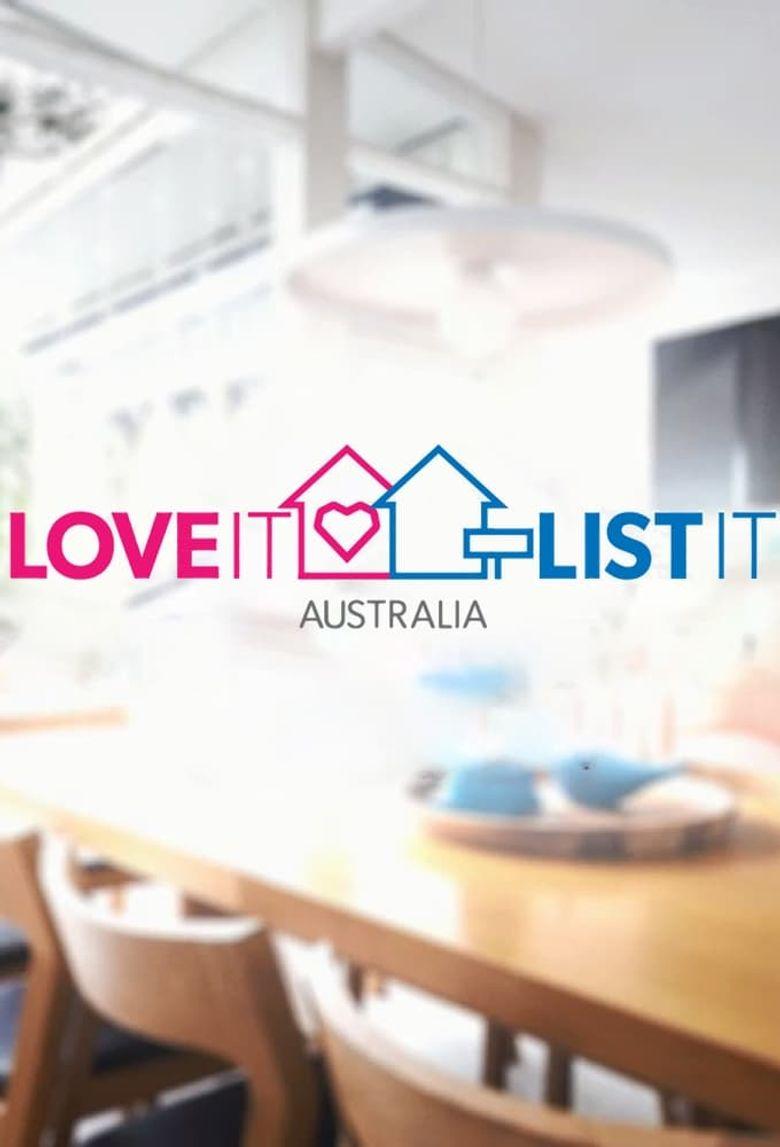 Love It or List It Australia Poster