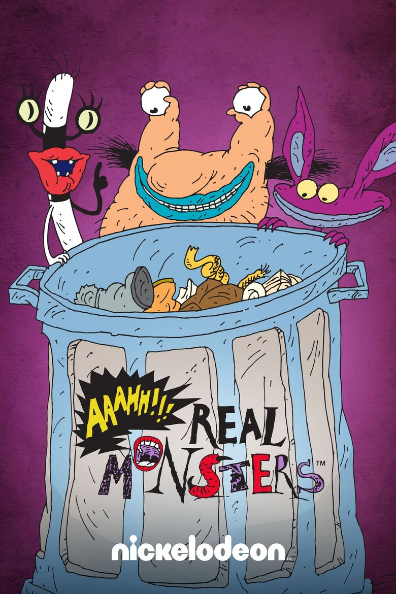 Aaahh!!! Real Monsters Poster