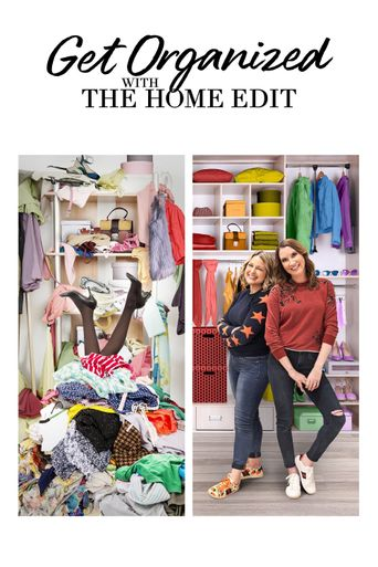 Get Organized with The Home Edit Poster