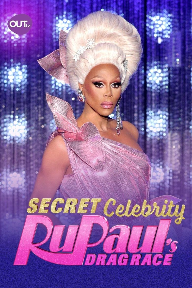 Secret Celebrity RuPaul's Drag Race Poster
