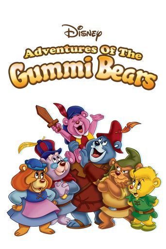 Disney's Adventures of the Gummi Bears Poster