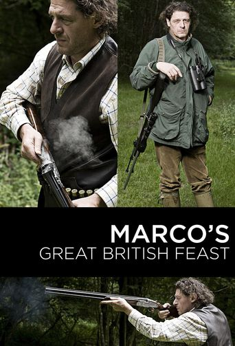 Marco's Great British Feast Poster