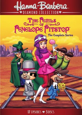 The Perils of Penelope Pitstop Poster