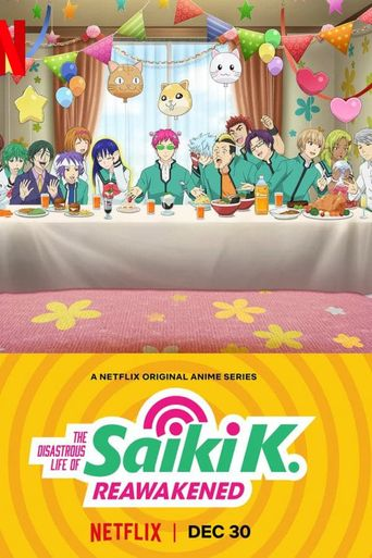 The Disastrous Life of Saiki K.: Reawakened Poster