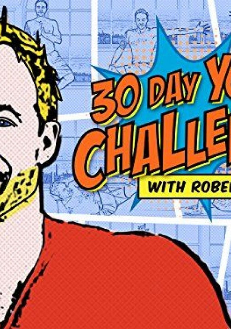 30 Day Yoga Challenge Poster
