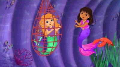 dora and friends into the city magical mermaid adventure