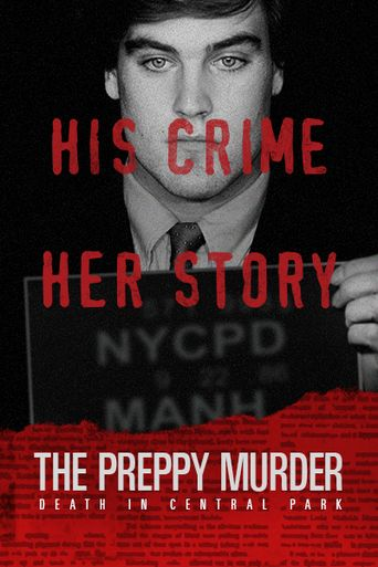 The Preppy Murder: Death in Central Park Poster
