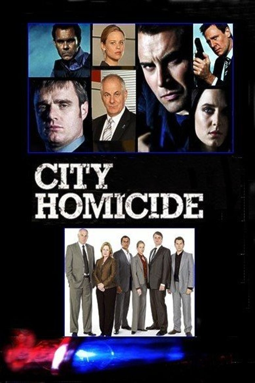 City Homicide Poster