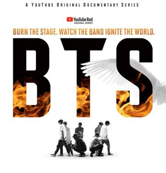 BTS: Burn the Stage Poster