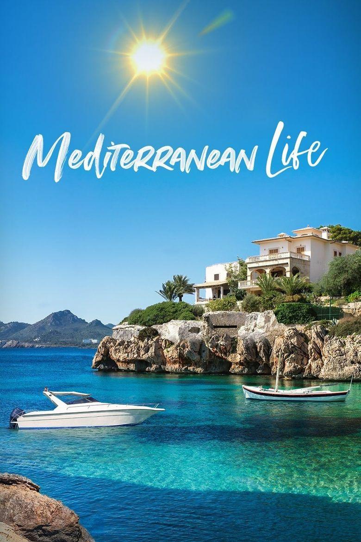Mediterranean Life Poster