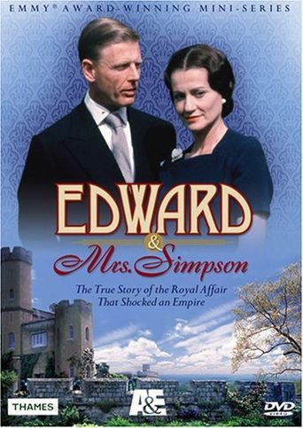 Edward and Mrs Simpson Poster