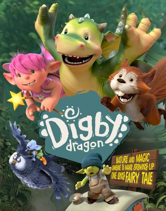 Digby Dragon Poster