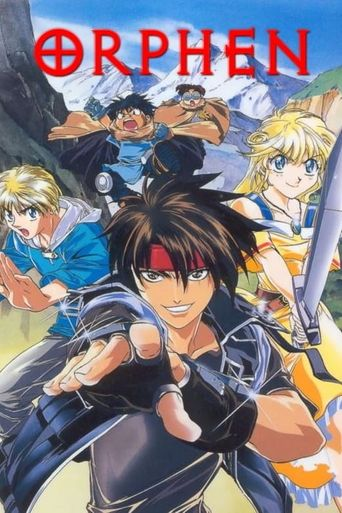 Orphen Poster