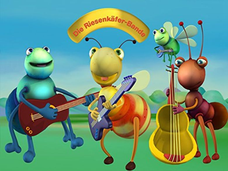 Big Bugs Band Poster