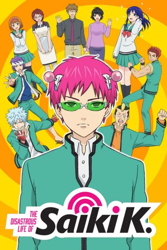 The Disastrous Life of Saiki K. Poster