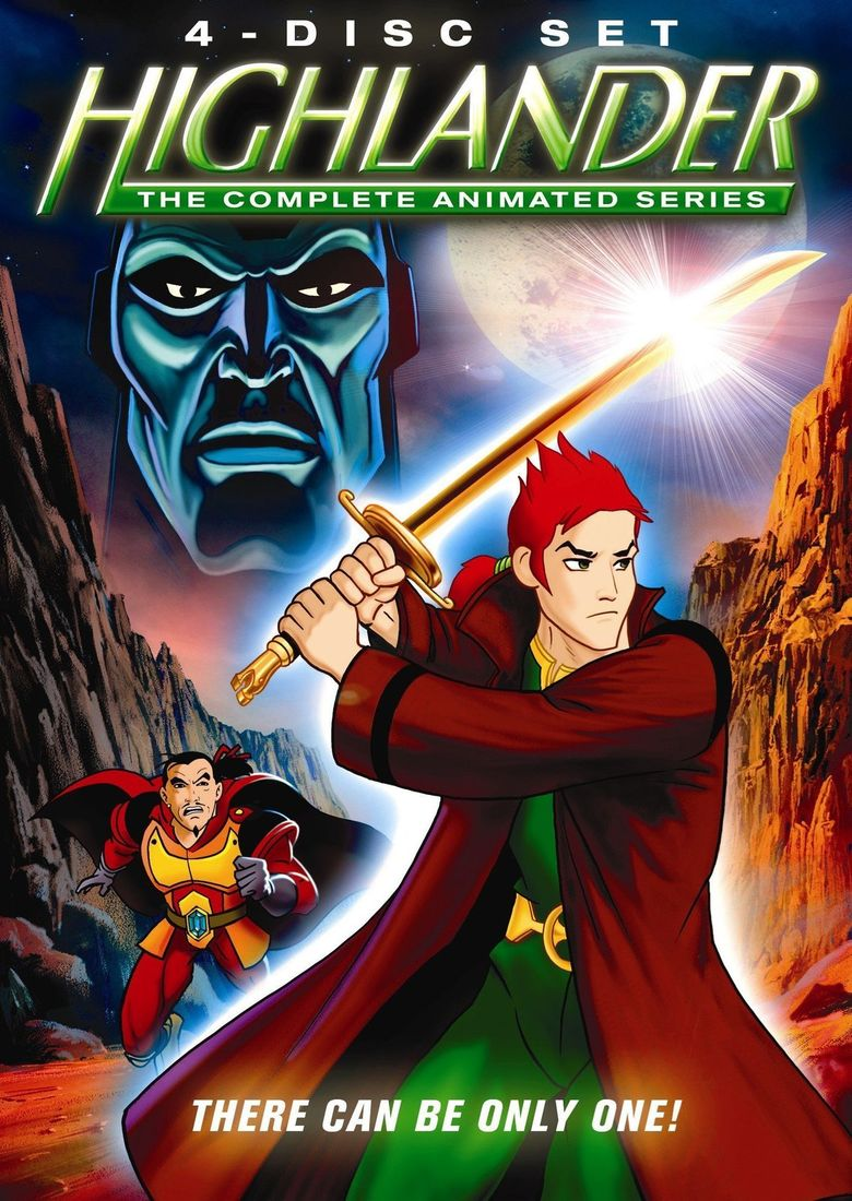 Highlander: The Animated Series Poster