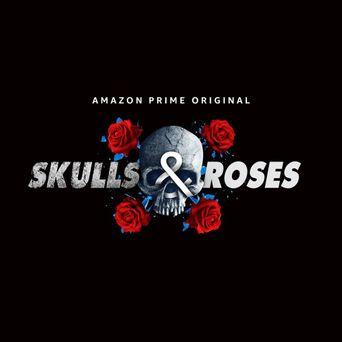 Skulls & Roses Poster