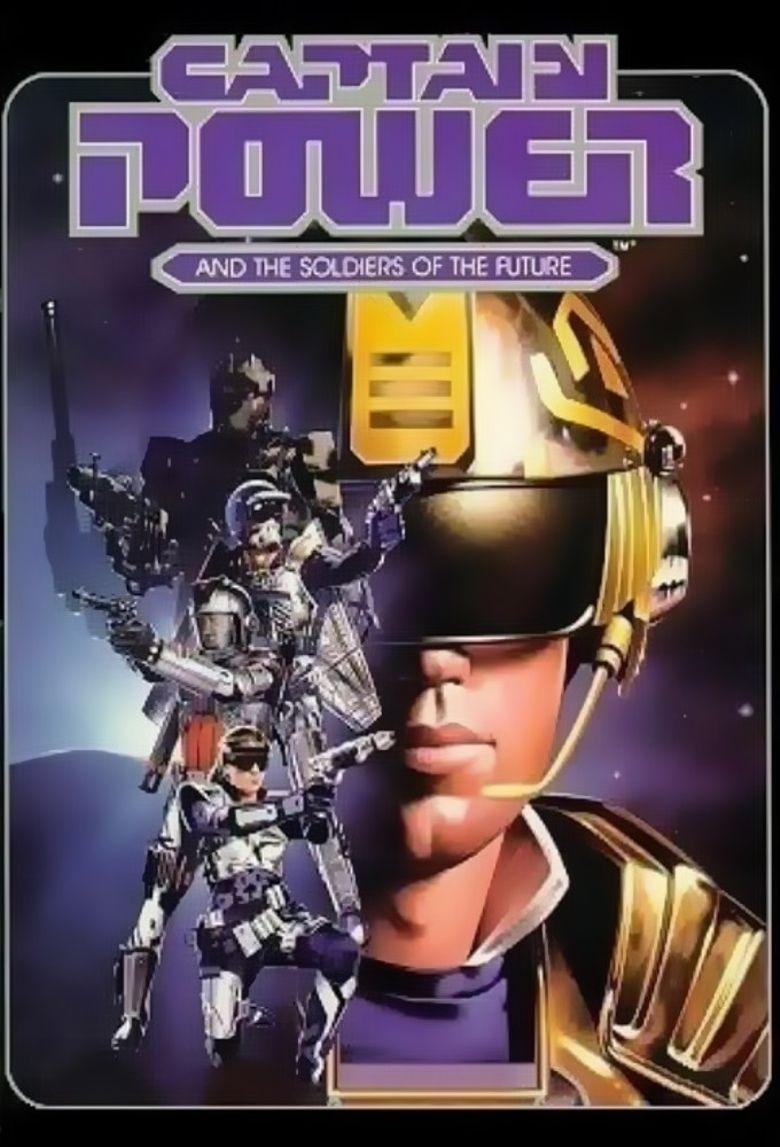 Captain Power and the Soldiers of the Future Poster