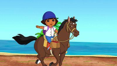 Season 08, Episode 07 Dora's and Sparky's Riding Adventure