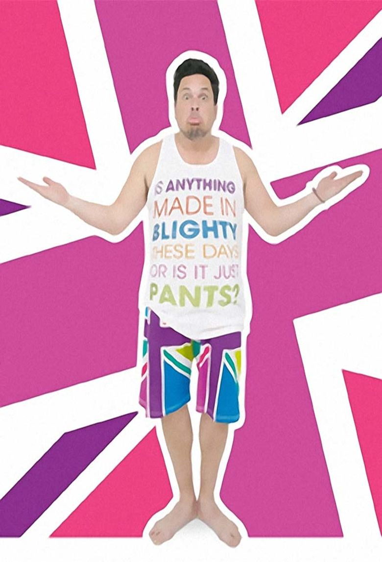 Dom Joly's Made In Britain Poster