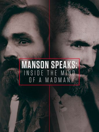 Manson Speaks: Inside the Mind of a Madman Poster